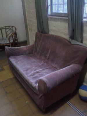 Juego de sillones tapizados en pana italiana