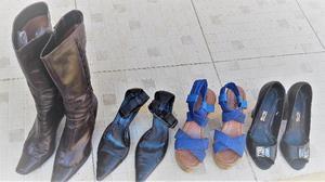 5 Pares de calzado de cuero N° 39. OPORTUNIDAD!!!