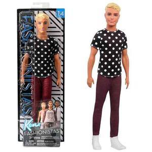 Barbie Muñeco Ken Fashionista  Original Mattel Tikitavi
