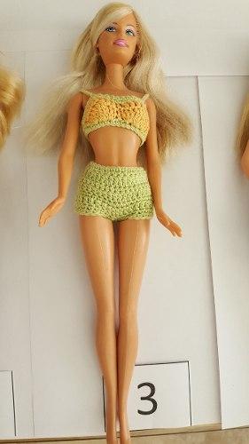 Barbie Original Mattel Articulacion En Piernas 4 Modelos