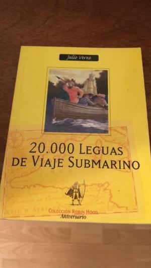 Libro  Leguas de Viaje Submarino – Julio Verne