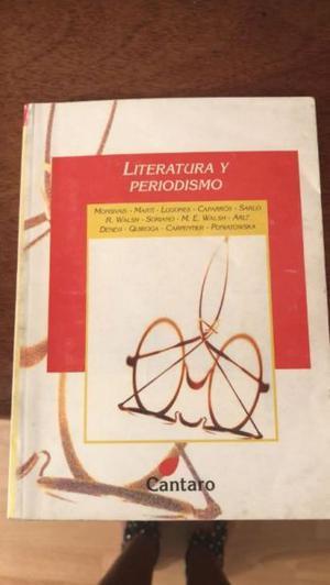 Libro Literatura y Periodismo - Cantaro