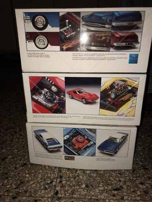 Maqueta Revell 1/24 Dodge Charger Mercury Corvette Chevrolet