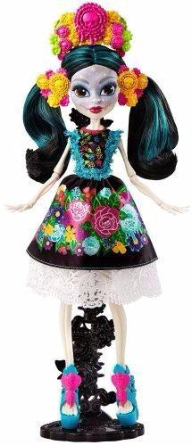 Monster High Skelita Coleccion Articulada 28 Ctrms D Mattel