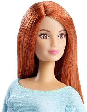 Muñeca Articulada Barbie Made To Move Mattel Original Yoga