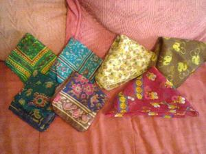 Pañuelos para Cuello Gatito Mujer!!! Nuevos!!! LOTE X 7