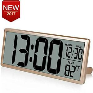 Reloj De Pared Digital Extra Large Vision De Txl Reloj Digit