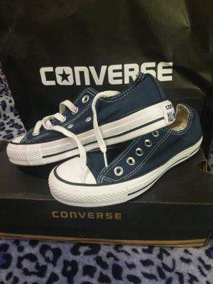 Zapatillas Converse Lona Originales Usadas