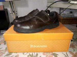 Zapatos de cuero talle 37 marrones (Ferli)