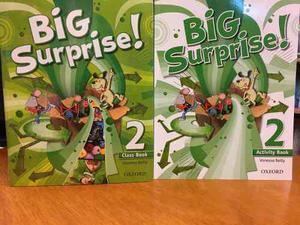 Big Surprise ! 2 Class Book & Activity Book - Oxford