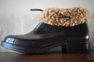 Botas de goma para lluvia
