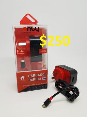 CARGADOR USB 5V 2.1A ONLY