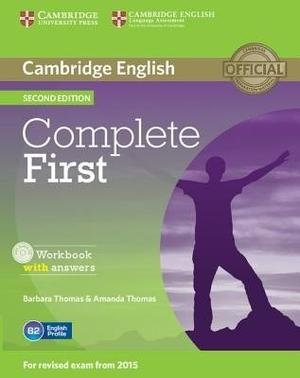 Complete First 2nd Ed. - Workbook With Answer - Cambridge