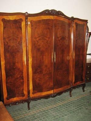 Juego de muebles dormitorio Luis XV