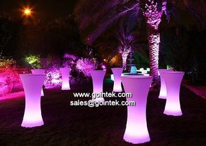 LED de taburetes de bar, Mesas LED, LED Maceteros