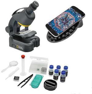 National Geographic Microscopio x C/soporte Smarphone