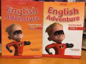 New English Adventure 2 Pupil S Book & Activity Book Pearson