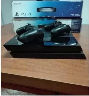 Playstation 4 + 2 Joystick (2 Juegos De Regalo)