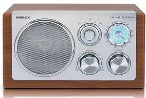 Radio Noblex Rx-40m Diseño Madera Retro Am/fm Vintage