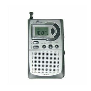 Radio Portatil Daihatsu D-rk19 Display Digital Am Fm