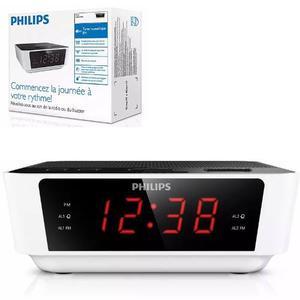 Radio Reloj Despertador Philips Aj Radio Alarma Fm Envio