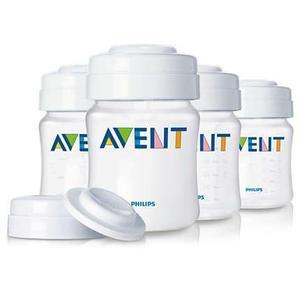 Recipientes para almacenamiento de leche Avent