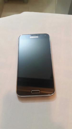 Samsung Galacy S5 azul usado precio charlable
