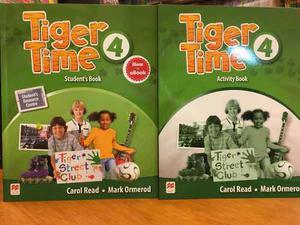Tiger Time 4 - Student S Book & Activity Book - Macmillan