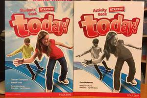 Today ! Starter - Student S Book & Activity Book - Pearson