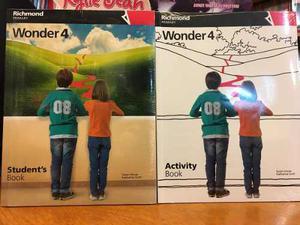 Wonder 4 - Student S Book & Activity Book - Richmond