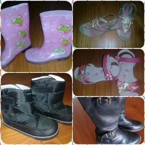 Botas y sandalias Niña