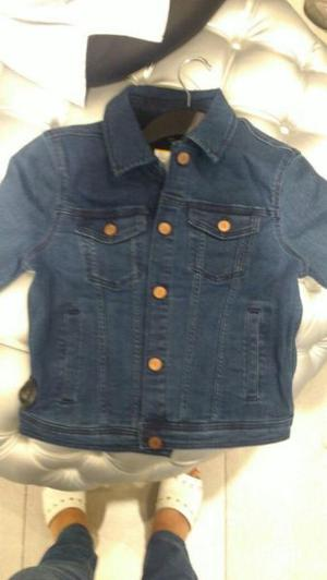 CAMPERA DE JEANS MUJER NUEVA H&H DIVIDED