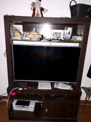 Mueble para Tv y Cama Cucheta con marinera