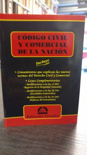 Nuevo Codigo Civil Y Comercial De La Nacion  De Bolsillo