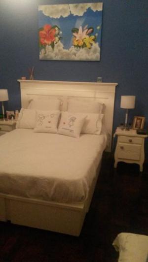 Por mudanza juego dormitorio de 2 Plazas con colchón
