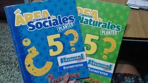 Área de Ciencias Sociales 5. Área de Ciencias Naturales