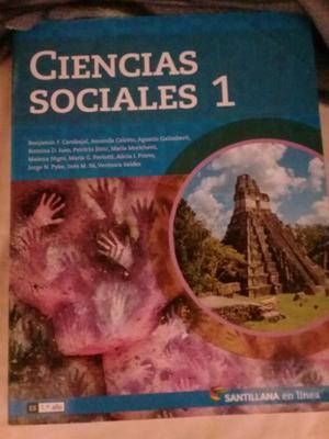 Libro de Ciencias sociales 1. Editorial Santillana