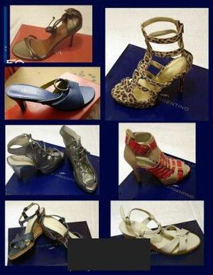 lote de zapatos de mujer