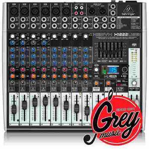 Behringer Xenyx X Usb Con Efectos - Grey Music -