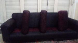 Juego de sofa de tres cuerpos