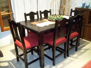 Mesa de 1.40 y 6 sillas !! Flete sin cargo en Córdoba