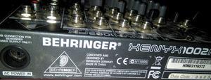 Mixer Behringer Xenyx Fx