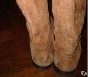 Vendo botas de carpincho