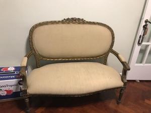 Vendo sillón estilo Francés Luis XV 2 cuerpos