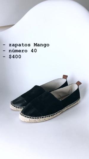 Zapatos marca Mango