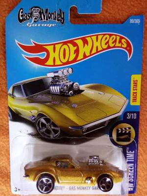 '68 Corvette Gas Monkey Garage Hotwheels