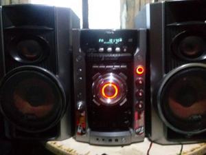 Aiwa Funciona todo Radio Cd-mp3 Auxi 2-bafles C Detalles