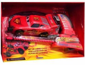 Auto Cars 3 Chocador Con Lanzador Rayo Mcqueen Quinotoys