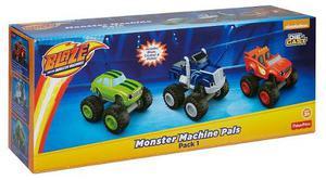 Blaze Y Los Monster Machines Set X 3 Blaze Pickle Crusher