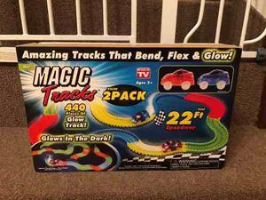 Magic Tracks Pista De Autos Flexible 440 Piezas Entrega Ya!